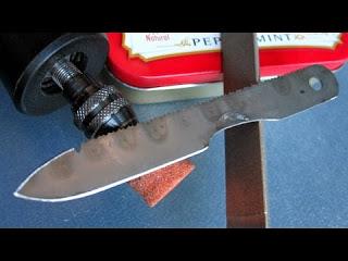 Микро нож выживания своими р…