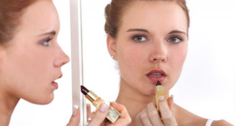 Небрежный макияж губ - новый…