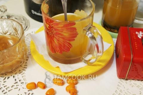 Безалкогольные напитки. Облепиховый чай
