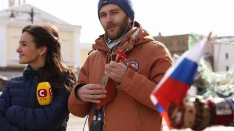 Украинские тележурналисты о российском Крыме: Пенсионеры в один голос радуются