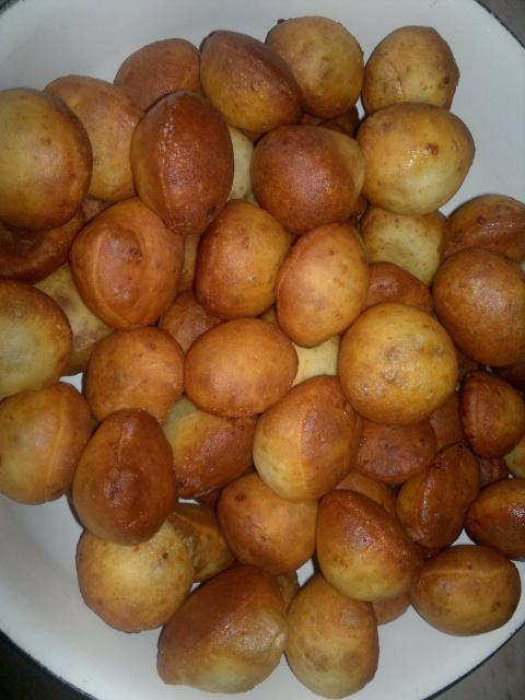 Орешки в масле из творога