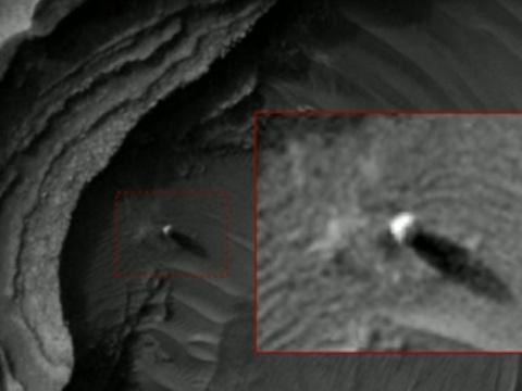 На Марсе нашли огромные башни