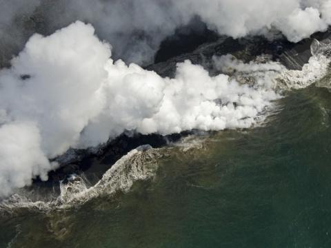 Вулканологи рассказали окрупнейшей подводной катастрофе