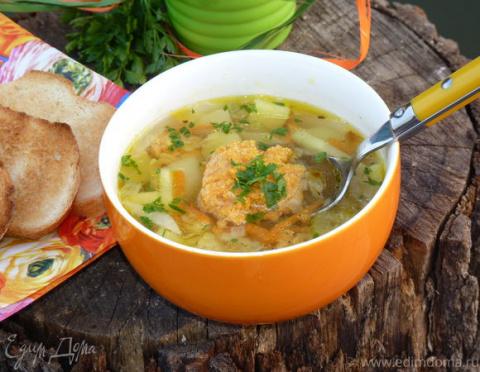 ДЕНЬ ПЕРВОГО БЛЮДА. Легкий суп «Икринка»