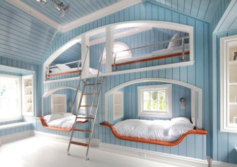 20 шикарных идей как двухъярусная кровать может сэкономить место в доме