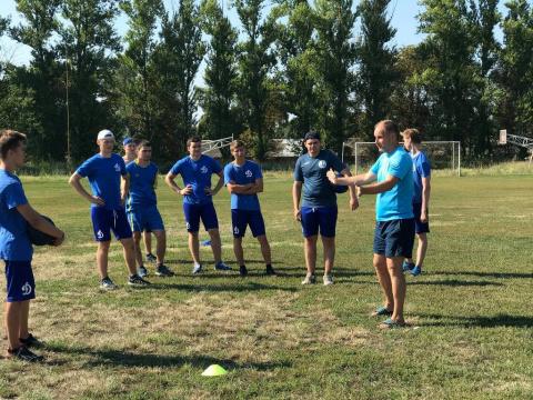 «Динамо» наращивает трениров…