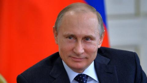 Владимир Путин в очередной р…