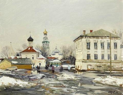 Художник Валерий Страхов. Чудо северного пейзажа
