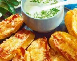 Картофель в фольге с семгой, курицей, беконом от Михалыча!