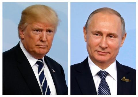 Встреча Путина и Трампа. Путин и путиноиды