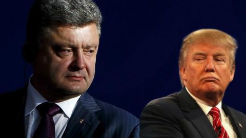 Трамп потребовал от Порошенко отчёта по платежам из США, – названо условие для встречи двух президентов