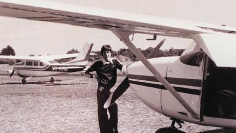 Самолет Фреда Валентича был …