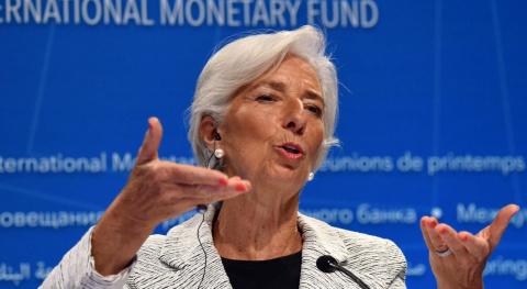 МВФ признал за Россией рост. Анна Королёва