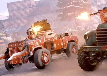 Жители постапокалиптических пустошей Crossout подрались из-за новогодней елки