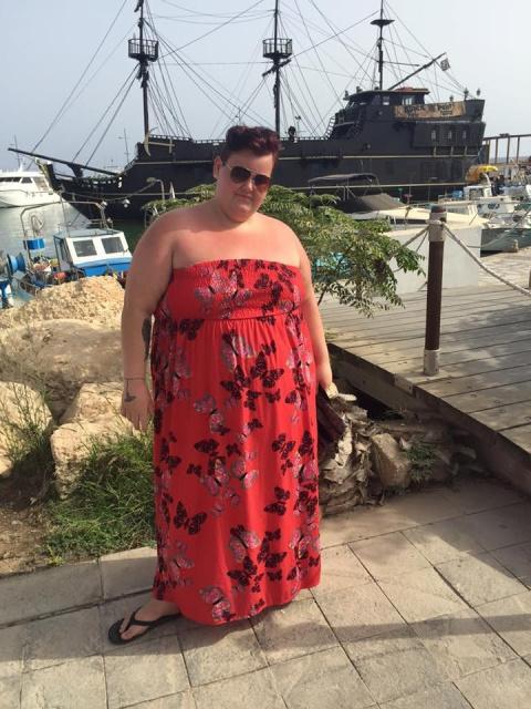 За год она скинула 82 килогр…