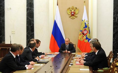 Совещание с постоянными членами Совета Безопасности -/- НОВОСТИ НЕДЕЛИ
