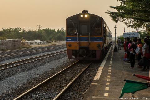 На поезде в Таиланд, финал: …