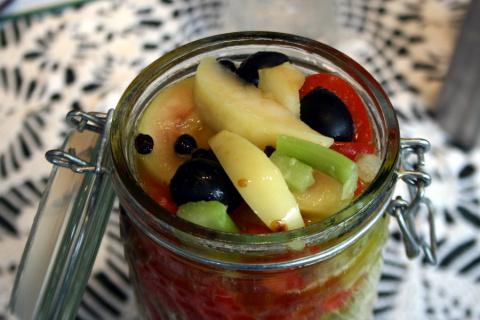 Вкуснейшее ассорти из овощей и фруктов
