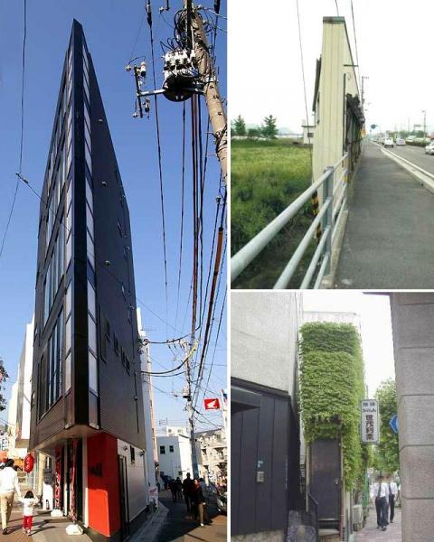 Самые узкие здания в мире
