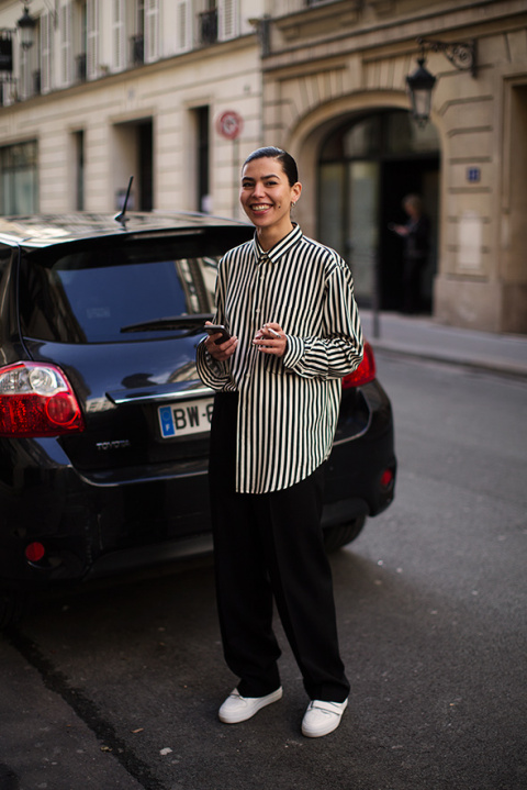 On the Street…Springtime Chic, Paris