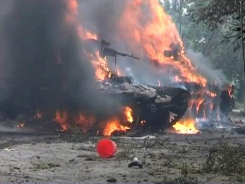 Ополченцы: Крупная группировка украинской армии попала в окружение под Торезом