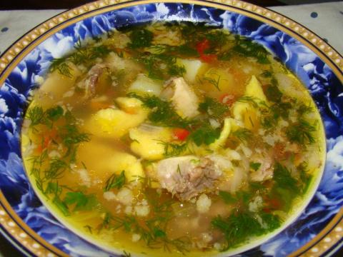 Супы от Юрия Мочиевского