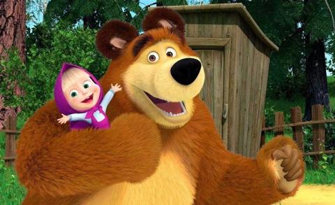 Маша и медведь - успех российского мультфильма
