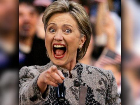 Клинтон показала пародию на Путина. Видео