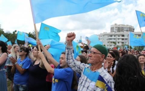 Беглые «свидомые» из Крыма у…