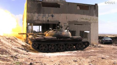 Сирийская армия отбросила «Д…