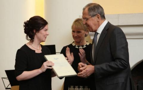 Общественники из Карелии получили стипендию от Сергея Лаврова