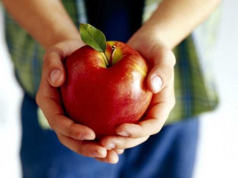 Ещё раз о пользе яблока