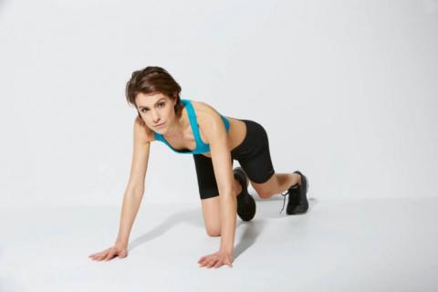 Новый фитнес-тренд покоряет мир — девушки ползают, как малые дети!