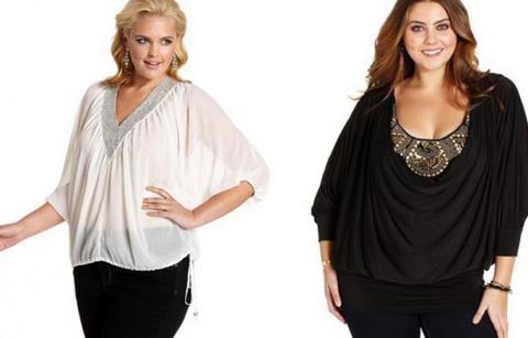 Как правильно выбрать блузку полной женщине — советы с фото