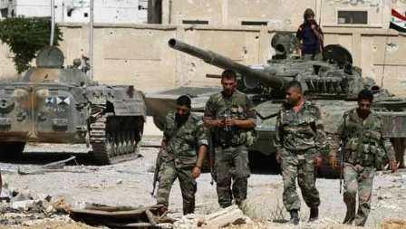 Сирийская армия выбила боеви…
