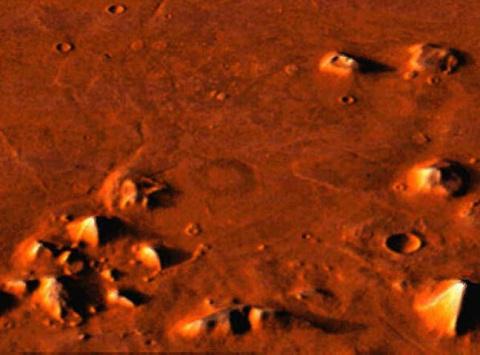 Марсианский след Атлантиды