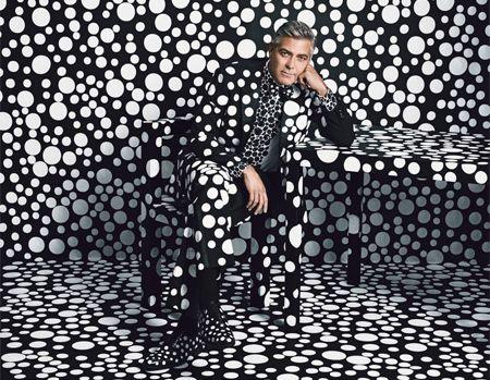 Найди Клуни в горохах