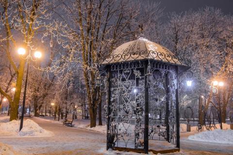 Донецк – летят утки…, зима…гололед… дружно охает народ… и накануне Крещения