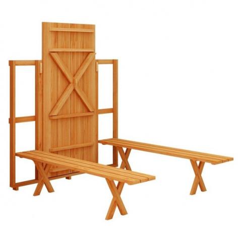 Интересная идея, компактно складывающаяся мебель
