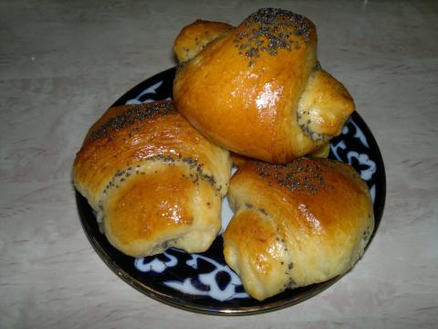 Слоеные булочки - просто и вкусно!