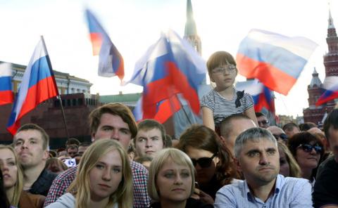 Россия показывает своё истин…
