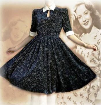 Женственная прелесть прошлого в настоящем — винтажные платья