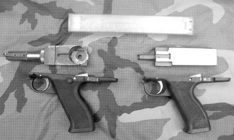 Экспериментальные пистолеты-…