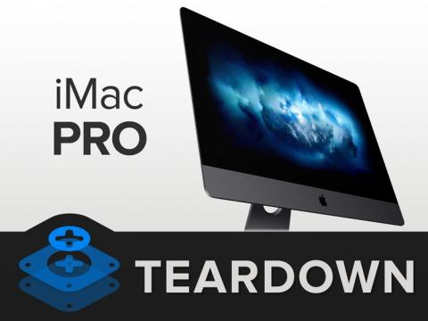 Моноблок Apple iMac Pro нового поколения разобран «на винтики»
