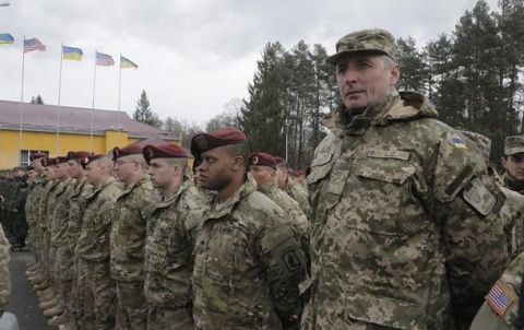 Армия США заявила о вводе войск на территорию Украины