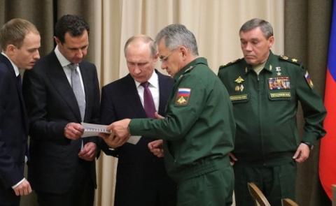 Путин встретился с Асадом в …