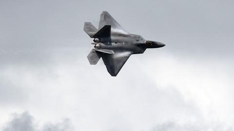 Американский F-22 мешал российским Су-25 выполнить задачу в Сирии