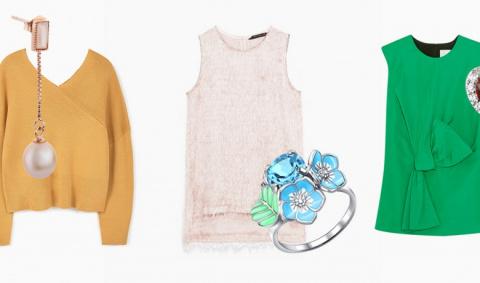7 модных цветов 2017 года  в одежде и украшениях