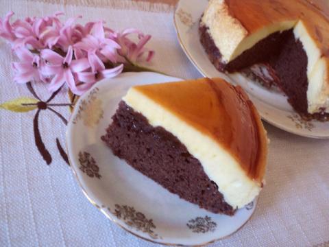 Торт «Крем-карамель». Рецепт Людмилы Головченко