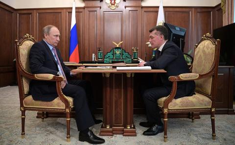 Встреча с Министром труда и соцзащиты Максимом Топилиным